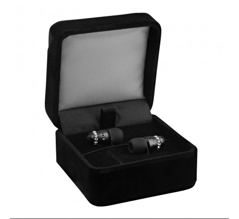Maroo ICE Collection Crystal Earbuds (Midnight)