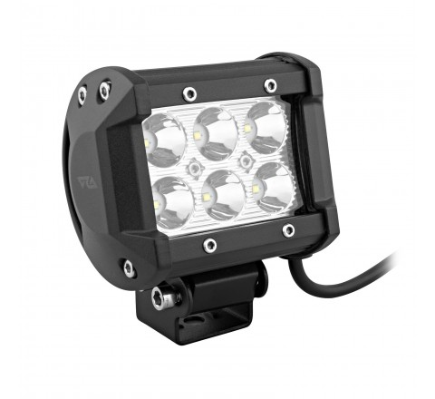Ora Night Runner Off Road LED Worklights - Bar Mount Spotlight 2 Pack (Black)