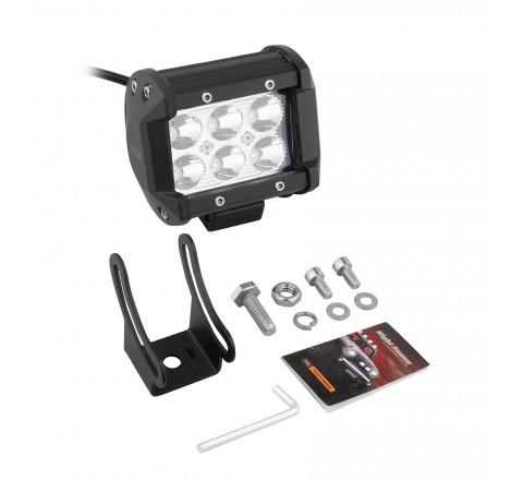 Ora Night Runner Off Road LED Worklights - Bar Mount Spotlight (Black)