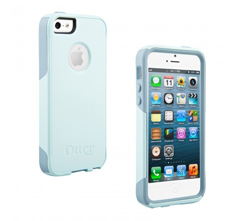 OtterBox Commuter Series Case for iPhone 5/5S (Blue/Green)