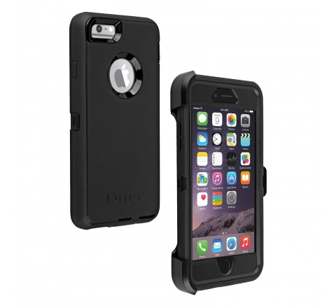 OtterBox Defender Series Case for iPhone 6 Plus/6S Plus (Black)