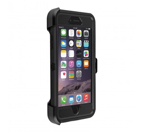 OtterBox Defender Series Case for iPhone 6+ (Black)