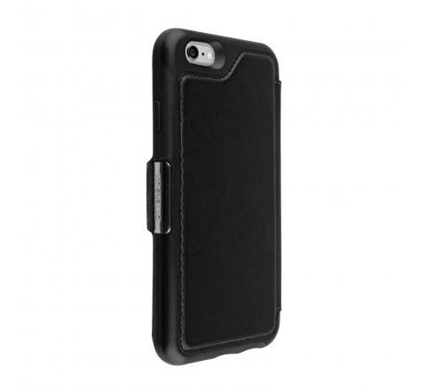 Otterbox Strada Series Leather Wallet Case for iPhone 6/6s (Black)