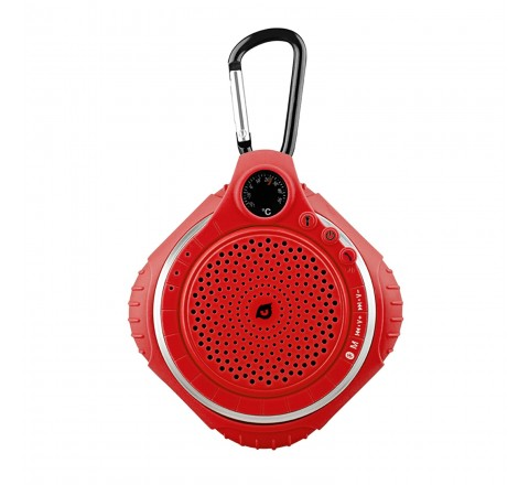 Owlee Highfly All-Terrain Wireless Speaker (Red)