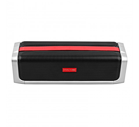 Owlee Stealth360 Bluetooth 4.1/NFC Wireless Speaker with Full Range 3D Sound (Black)