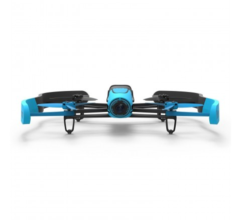Parrot Bebop Quadcopter Drone with 14MP Full HD 1080p Wide-Angle Camera - Manufacturer Refurbished (Blue)