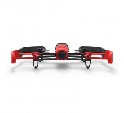 Parrot Bebop Quadcopter Drone with 14MP Full HD 1080p Wide-Angle Camera - Manufacturer Refurbished (Red)