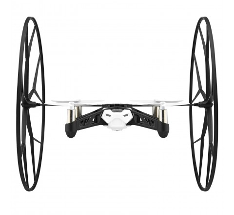 Parrott Rolling Spider Helicopter with HD Camera (White)