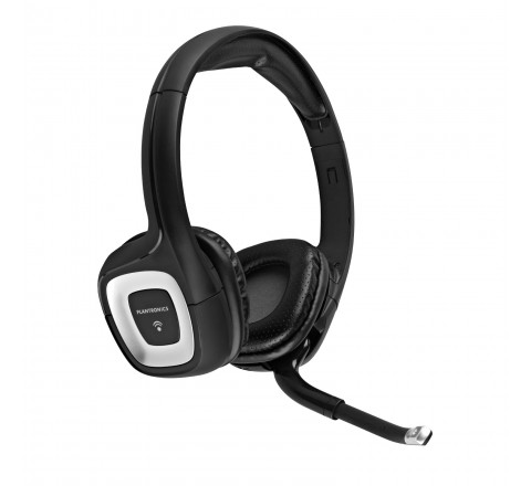 Plantronics .Audio 995 Digital Wireless Headset for Mac and PC (Black)