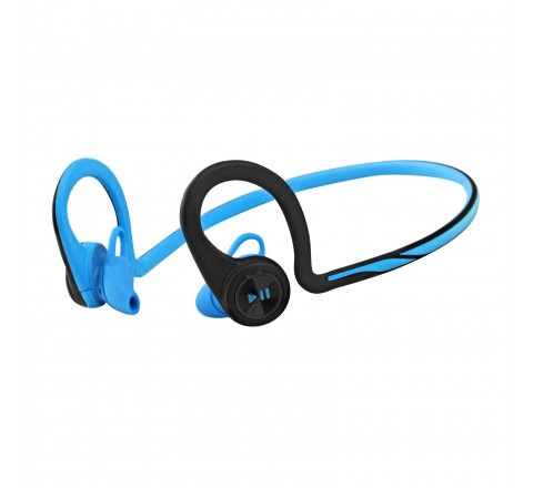Plantronics Backbeat Fit Wireless Headphones and Microphone (Blue)