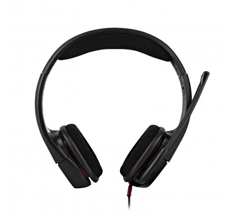 Plantronics GameCom 307 Wired Stereo Gaming Headset (Black)