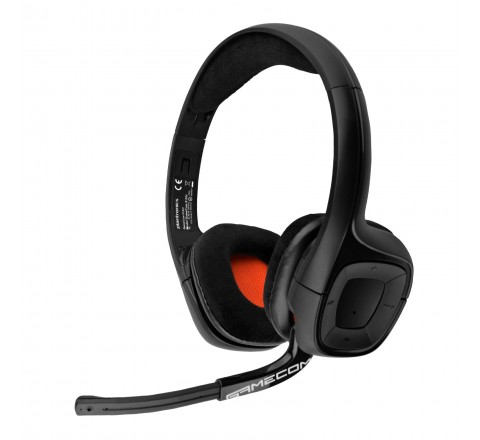 Plantronics GameCom 818 Wireless Stereo USB Gaming Headset (Black)