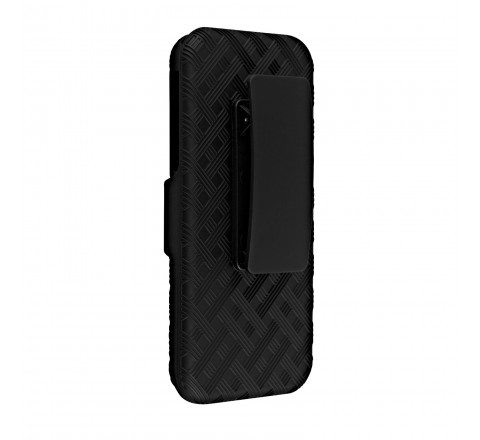 PureGear Shell Holster Combo with Kickstand for iPhone 5/5S/SE (Black)