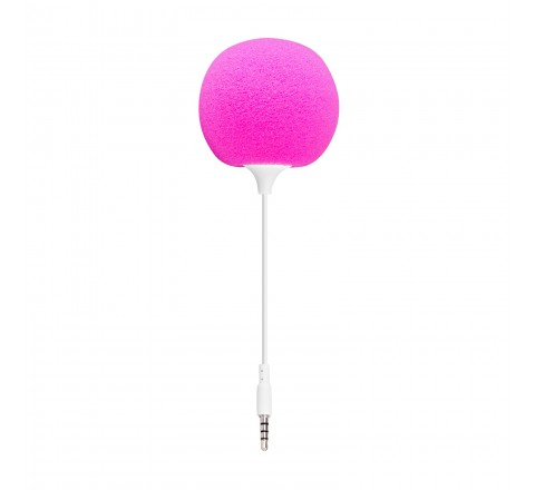 Quickcell Color Burst Sound Ball Portable Speaker (Pink)
