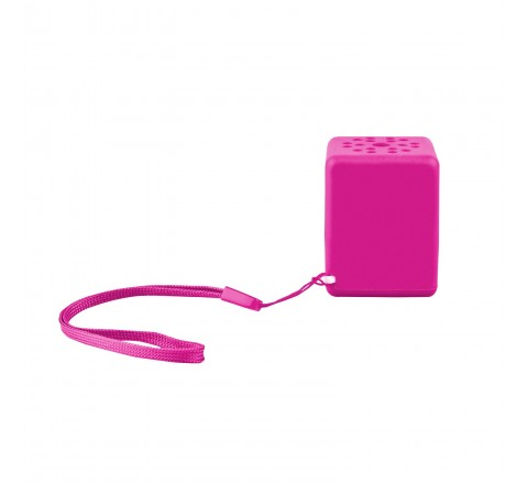 Quickcell Wireless Bluetooth Sound Cube Portable Speaker (Pink)