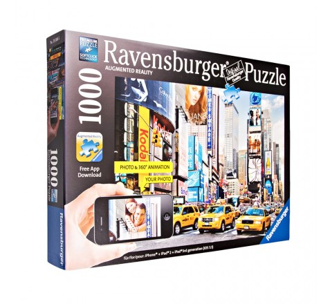 Ravensburger Colorful Activity At Times Square Puzzle