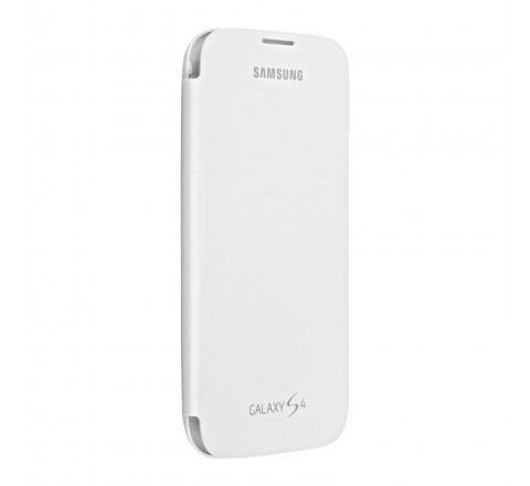 Samsung Flip Cover for Samsung Galaxy S4 (White)