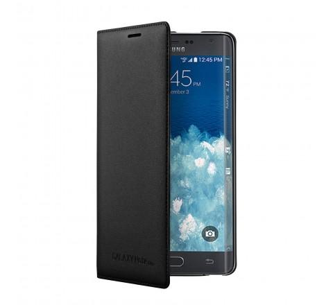 Samsung Wallet Flip Cover for Samsung Galaxy S5 (Black)