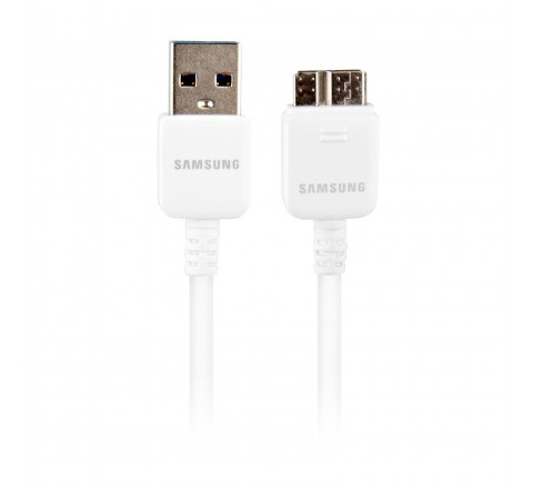 Samsung USB 3.0 5-Feet Data Charge Sync Cable for Samsung Galaxy Note 3/Galaxy S5 (White)
