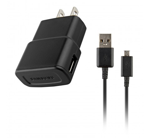 Samsung ETA0U60JBE Home Charger with Detachable Micro USB Cable (Black)
