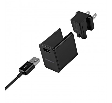 Samsung Travel Charger with USB to 30-pin for Galaxy Tab (Black)