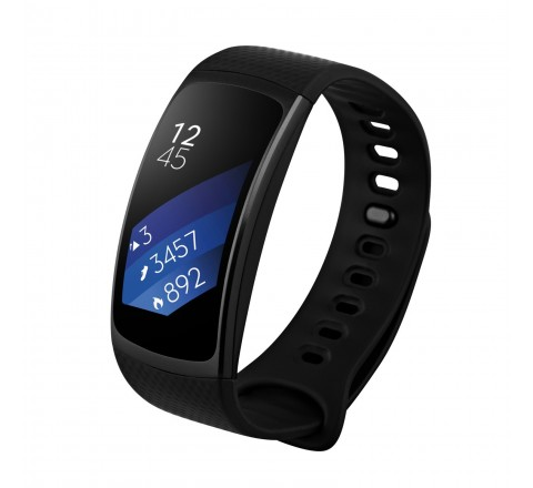 Samsung Gear Fit2 Smartwatch (Small-Black)