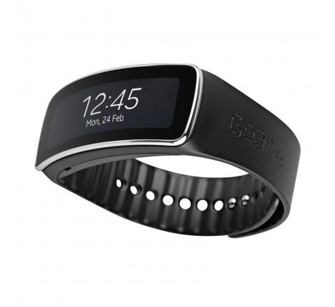 Samsung Gear Fit Smart Watch (Black)