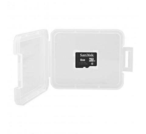 SanDisk 8GB Class 2 MicroSD Memory Card (Black)