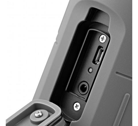 Scosche boomBOTTLE H20 Rugged Waterproof Bluetooth Wireless Speaker (Gray)