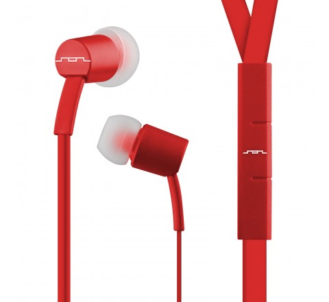 Sol Republic 1112-76 Jax Earbuds with 1-Button Mic + Music Control (Olive)