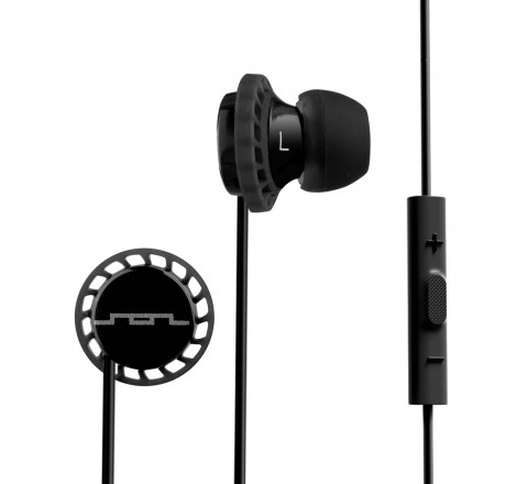 Sol Republic 1131-31 Relays Earbuds with 3-Button Mic + Music Control (Black)