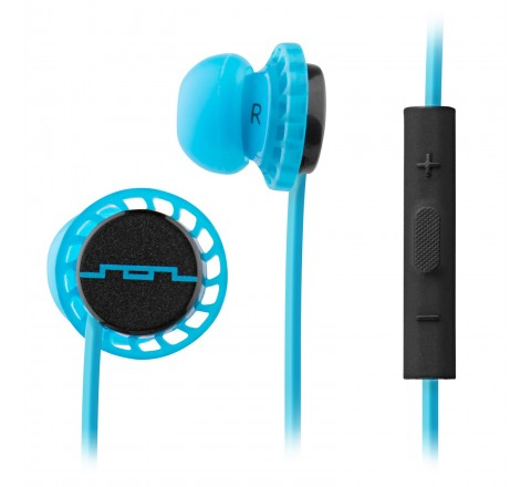 Sol Republic 1131-40 Relays Earbuds with 3-Button Mic + Music Control (Lemon Lime)