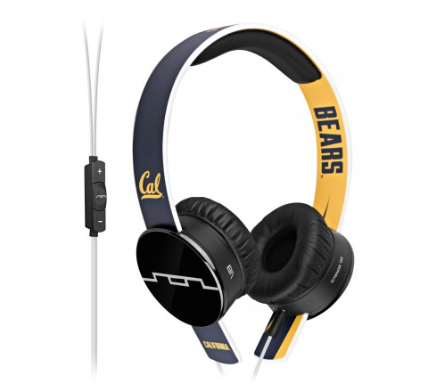 Sol Republic 1211-CAL Collegiate Series Tracks On-Ear Headphones with 3 Button Remote (Blue/Yellow)