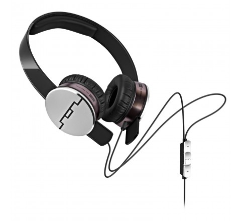 Sol Republic 1241-01 Tracks HD On-Ear Headphones with 3 Button Remote (Black)