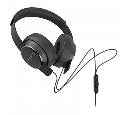 Sol Republic 1601-30 Master Tracks Over the Ear Headphones with 3-Button Remote (Gunmetal)