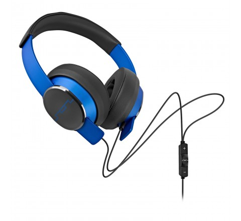 Sol Republic 1601-36 Master Tracks Over the Ear Headphones with 3-Button Remote (Blue)