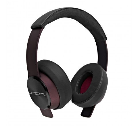 Sol Republic 1631-33 Master Tracks XC Over the Ear Headphones with 3-Button Remote (Red)