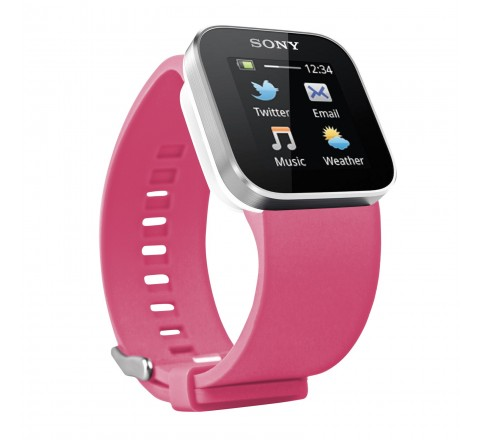 Sony Watchband for Sony SmartWatch (Pink)