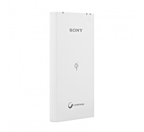 Sony CP-W5 5000mah Wireless Portable Charger for Qi Enabled Devices(White)