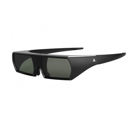Sony Playstation 3 Active Shutter 3D Glasses (Black)
