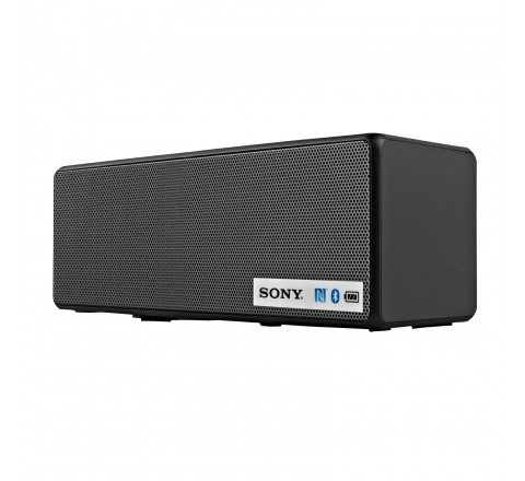 Sony SRSX3 Portable NFC Bluetooth Wireless Speaker (Black)