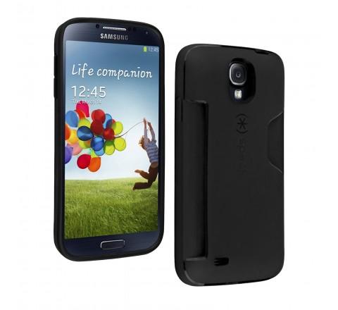 Speck SmartFlex Card Samsung Galaxy S4 Protective Case (Black)