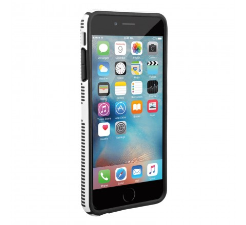 Speck Products CandyShell Grip Case for iPhone 6 Plus and 6s Plus (White/Black)