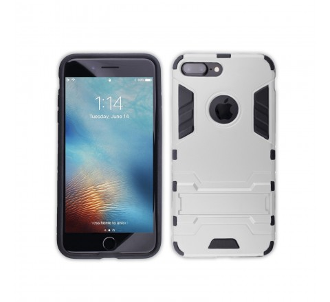 Surgit Rugged Case for iPhone 7 Plus/8 Plus (White)