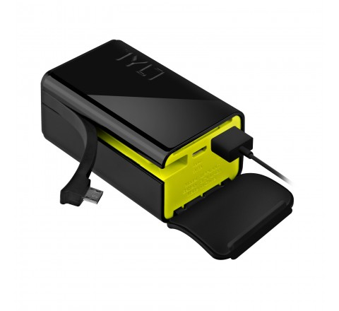 Tylt POWERPLANT 5200 mAh Battery Backup for Micro-USB Devices (Black)