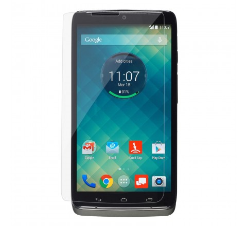 Flexible Glass Screen Protector for DROID Turbo (Clear)