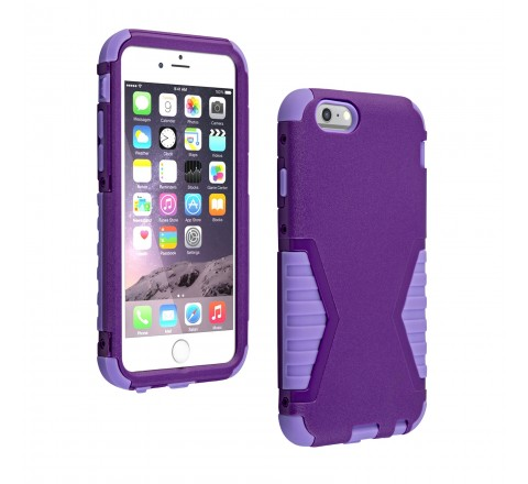 Universal Rugged Protective Case for iPhone 6/6s (Purple)