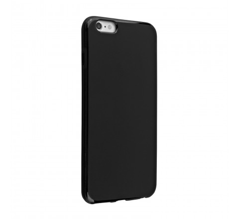Universal High Gloss Silicone Case for iPhone 6/6s (Black)