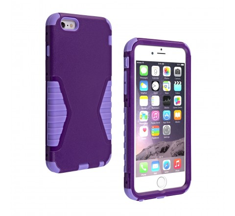 Universal Rugged Protective Case for iPhone 6 Plus/6s Plus (Purple)