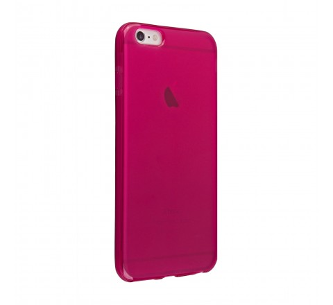 Universal High Gloss Silicone Case for iPhone 6 Plus/6s Plus (Pink)